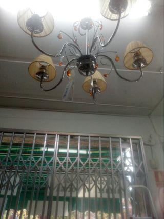 Ocasión. lampara 5 luces