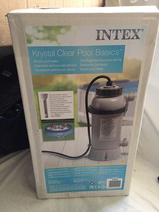 Calentador de piscina Intex
