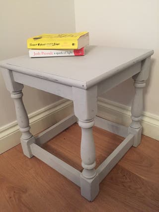 Upcycled Solid Oak Occasional Table