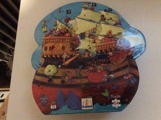 Puzzle el barco de barbarroja