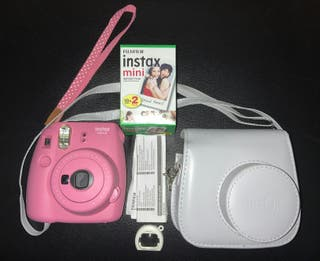 KIT FUJIFILM INSTAX MINI 9