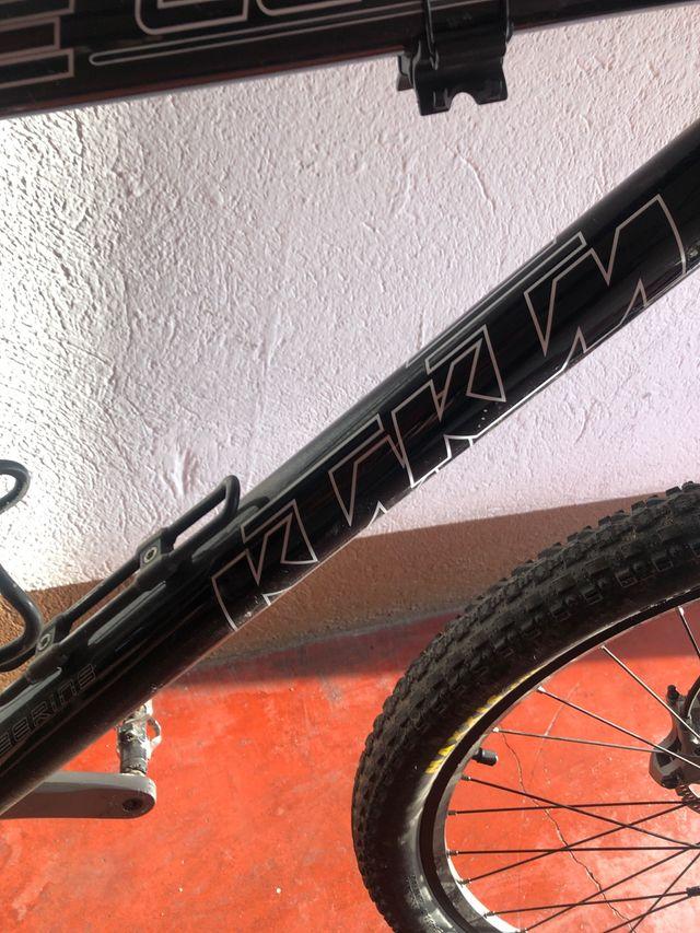 Bicicleta KTM talla L