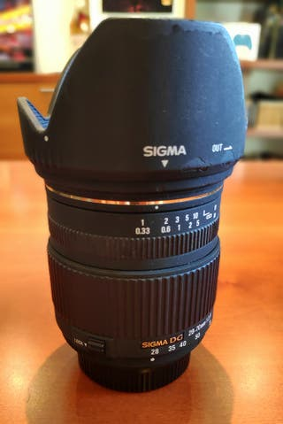 Objetivo Sigma 28-70 2.8 para Nikon