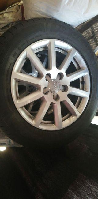 Llantas Audi y neumáticos