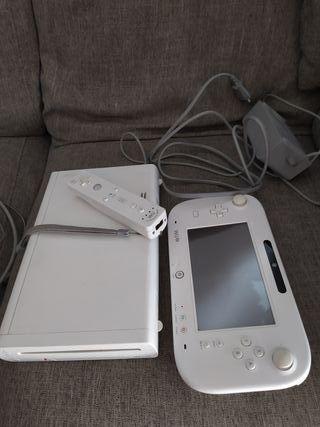 Wii U con 10 juegos
