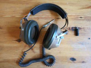 Auténticos auriculares vintage