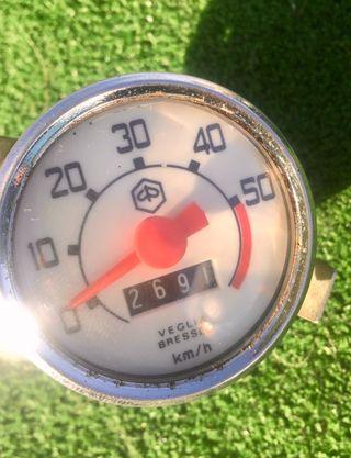 Cuentakilómetros vespino gl