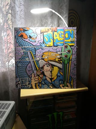 LP BOMB THE BASS: INTO THE DRAGON