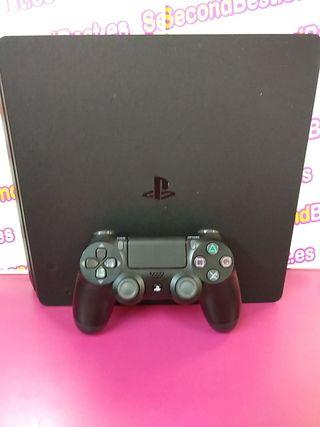 Consola PS4 de 1tb con mando y cableado