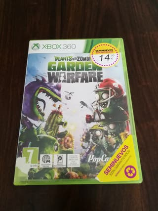 Juego XBOX 360 Plants vs Zombies Garden Warfare
