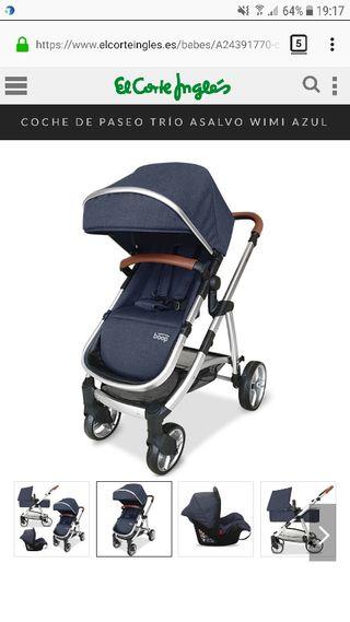 Sillita de bebé wimi azul