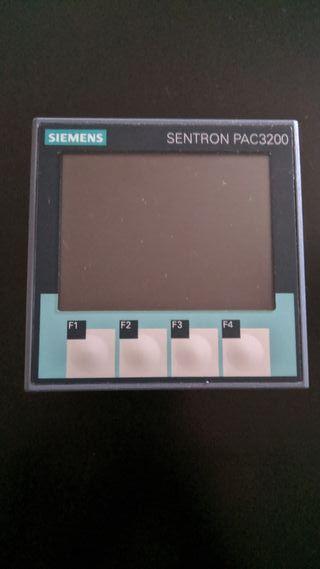 Medidor Sentron PAC3200 y trafos TC5 40/5 Circutor