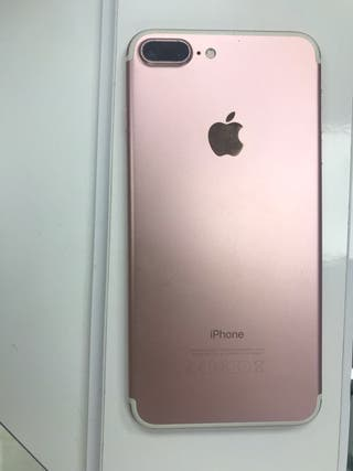 iPhone 7 Plus 32GB casi nuevo color rosa
