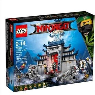 Lego ninjago 70617 templo ninjago