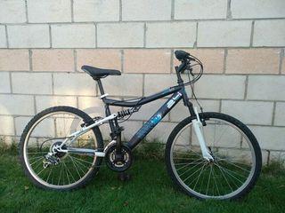 bicicleta de montaña doble suspension 24''