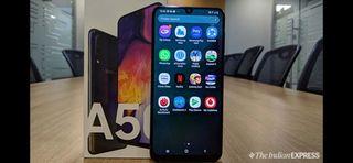 Samsung Galaxy a50 negro