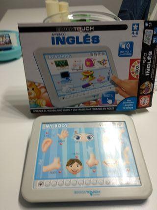 Tablet aprende inglés