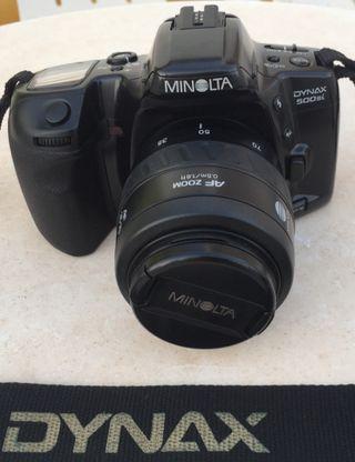 Minolta Dinax 500 SI, analógica 1994 + objetivo 35