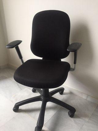 Silla giratoria, silla oficina, silla escritorio