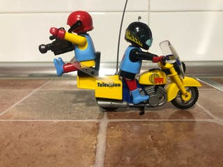Playmobil moto tv