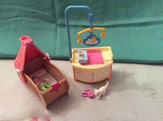 Playmobil habitación bebé