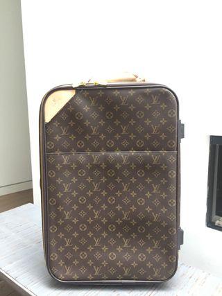 Maleta carryon de Louis Vuitton perfecta imitacion