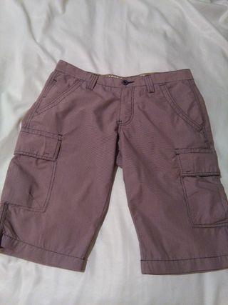 Pantalón bermudas hombre