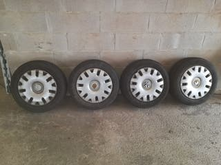 vendo 4 llantas 5x112 grupo vag con neumáticos en