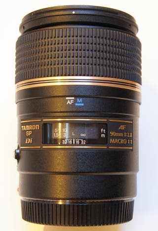 Objetivo Tamron SP AF 90mm F2.8 Di Macro Sony A