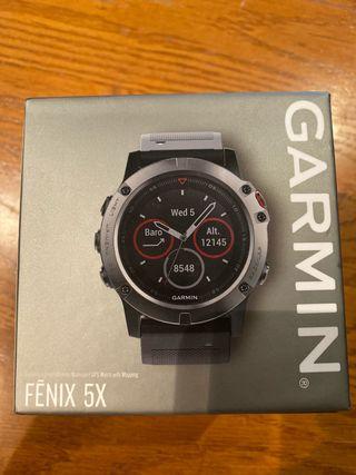 GARMIN FENIX 5 X nuevo a estrenar