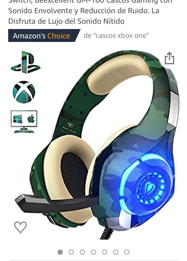 Auriculares gaming Ps4 .pc.