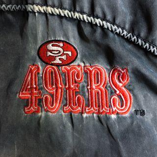 Chaqueta original NFL de los San Francisco 49ers