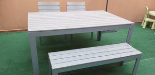 Mesa Jardin y silla