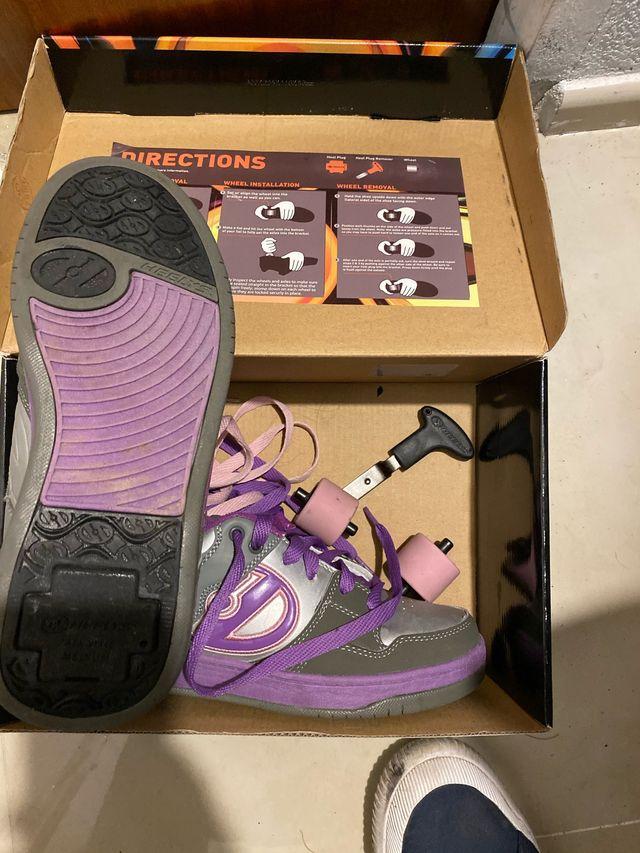 Zapatillas Heelys patines con ruedas