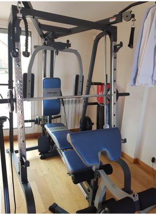 Maquina musculacion muy completa