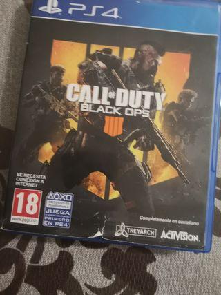 juego play 4 Call of Duty