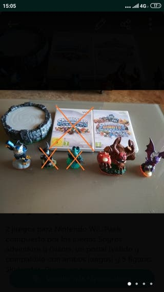 Juego skylanders (Wii)