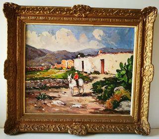 Cuadro pintado al óleo de SALVADOR BALIELLAS OLIVA