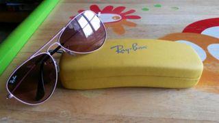 Gafas de sol rosa niña 5 años Rayban