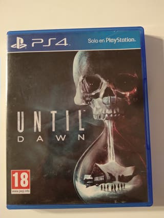 Until Dawn PS4. Venta o cambio