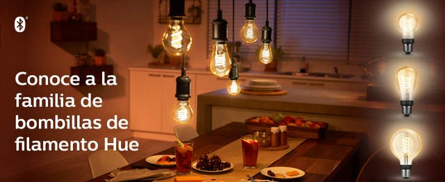 Philips Hue White - Bombilla LED inteligente E27