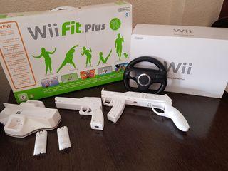 wii + juegos + accesorios