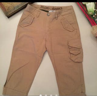 Pantalón pirata Studio Classic.talla 38