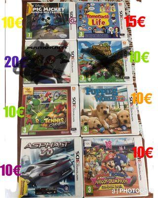 Juegos nintendo 3d