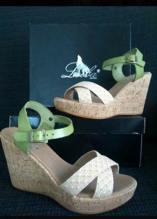Sandalias de piel Loiba