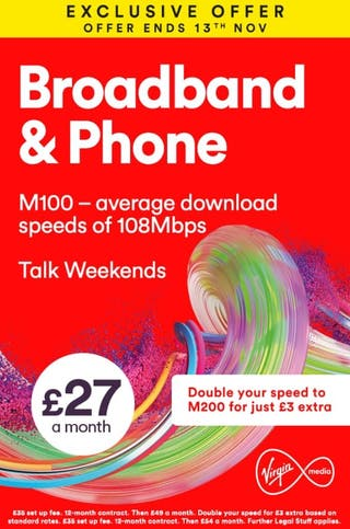 Exclusive Virgin Media Deals