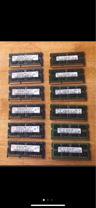Módulos RAM 2GB 1.067MHz memorias APPLE MAC