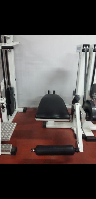 Se venden maquinas de gimnasio