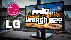 Monitor gaming de 144 hz LG 24GM77