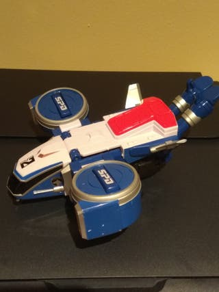 Figura zord azul de power rangers spd